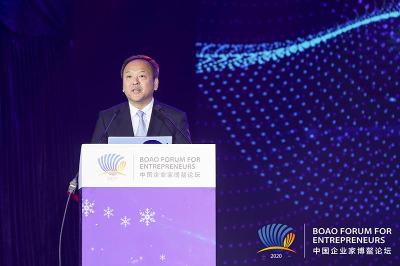 南北喜相逢 冰雪秀南国——2020中国企业家博鳌论坛哈尔滨之夜举办