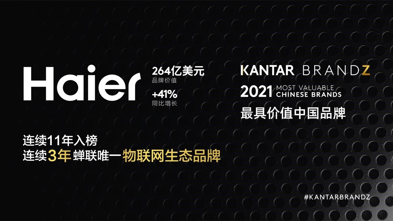 BrandZ最具价值中国品牌百强发布 生态品牌打造可持续增长新引擎