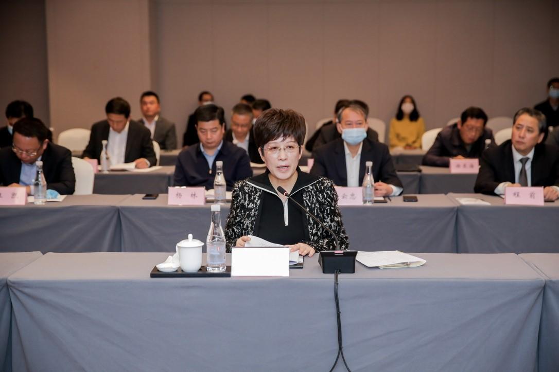 黄山市委书记凌云与上海新沪商联合会企业家举行工作会谈